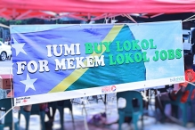Creating a #BuyLocal campaign in Solomon Islands